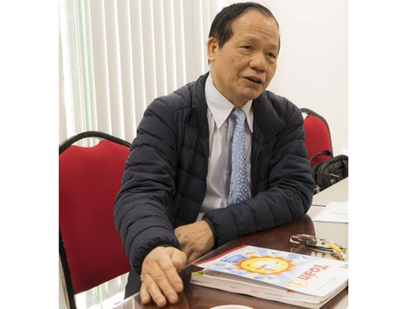 """PGS.TS Trần Diên Hiển: Tôi rất tâm đắc với triết lý của bộ sách """"Vì sự bình đẳng và dân chủ trong giáo dục"""""""