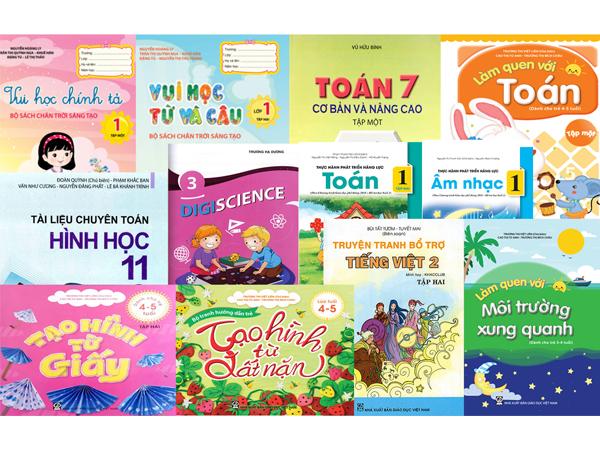 Danh mục sách tham khảo tháng 9 của NXB Giáo dục Việt Nam