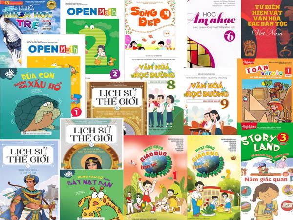 Danh mục sách tham khảo dùng cho thư viện trường học từ năm học 2020-2021