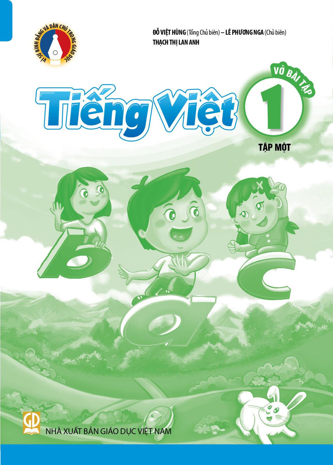 Vở bài tập Tiếng Việt 1-Tập 1
